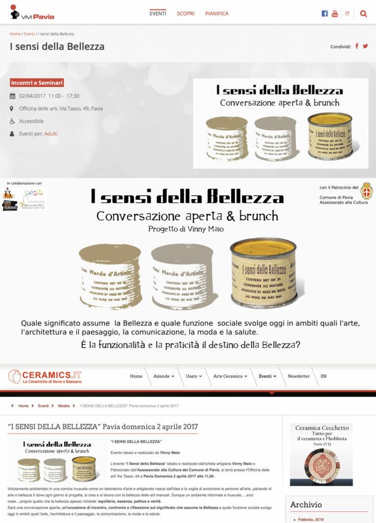 Articolo di Vinny Maio Design su Vivi Pavia