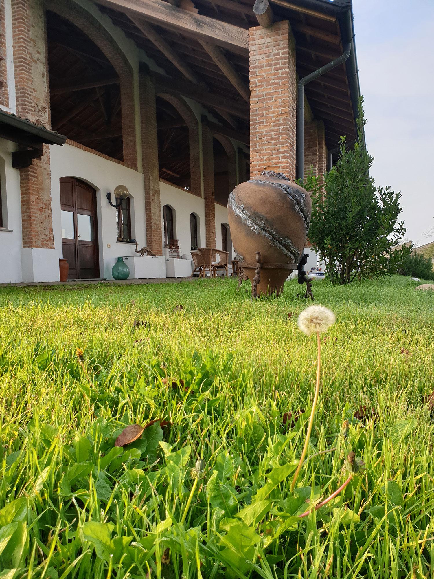 Giardino di Cascina Orologio a Pavia